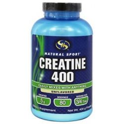 Natural Sport Creatine 400 Unflavored 400 Grams