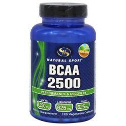 Natural Sport BCAA 2500 120 Vegetarian Capsules