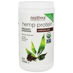 Nutiva Organic Hemp Protein Shake Chocolate 16 Oz