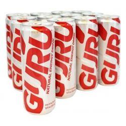 Guru Energy Natural Energy Drink Lite 12 Oz