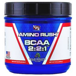 VPX Amino Rush BCAA 2 2 1 Wild Grape 7 41 Oz