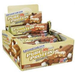 Pure Protein High Protein Bar s'mores 2 75 Oz