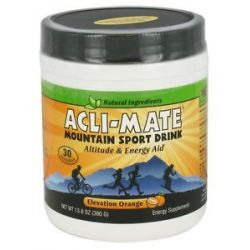 Acli Mate Mountain Sport Drink Elevation Orange 13 8 Oz