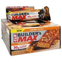 Clif Bar Builder's Max Protein Bar Caramel Peanut 3 4 Oz