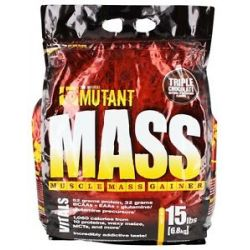 Mutant Mass Muscle Mass Gainer Triple Chocolate 15 Lbs