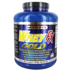 Muscle FX Whey FX Gold Chocolate 5 Lbs