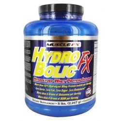 Muscle FX Hydrobolic FX Chocolate 5 Lbs