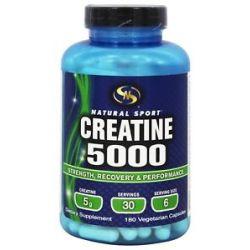 Natural Sport Creatine 5000 180 Vegetarian Capsules