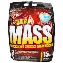 Mutant Mass Muscle Mass Gainer Cookies Cream 15 Lbs