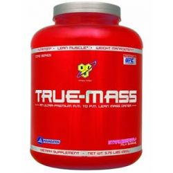 BSN True Mass Lean Mass Gainer Strawberry 5 75 Lbs 834266006700