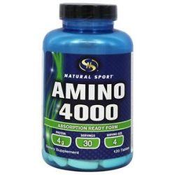 Natural Sport Amino 4000 120 Tablets