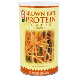 MLO Brown Rice Protein Powder Rice Bran Extract 24 Oz