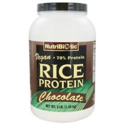 Nutribiotic Vegan Rice Protein Chocolate 3 Lbs