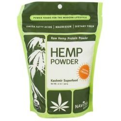 Navitas Naturals Raw Hemp Protein Powder Certified Organic 12 Oz