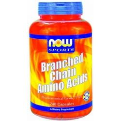 Now Foods Branched Chain Amino Acids 240 Capsules