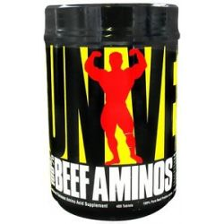 Universal Nutrition 100 Beef Aminos Sustained Release 400 Tablets