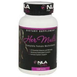 NLA for Her Her Multi Complete Female Multivitamin 120 Tablets
