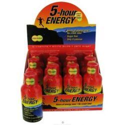 5 Hour Energy Energy Shot Lemon Lime Flavor 2 Oz