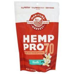 Manitoba Harvest Hemp Pro 70 Vanilla 11 Oz