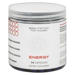 Six Nutrition Energy for Women 90 Capsules
