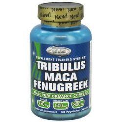 Natural Sport Tribulus Maca Fenugreek 90 Vegetarian Capsules