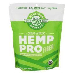 Manitoba Harvest Hemp Pro Organic Fiber 2 Lbs