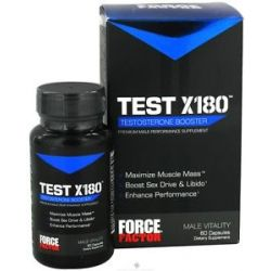 Force Factor Test X180 Testosterone Booster 60 Capsules