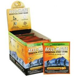 Acli Mate Mountain Sport Drink Elevation Orange 30 Packet S