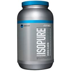 Nature's Best Isopure Perfect Zero Carb Creamy Vanilla 3 Lbs 089094021153