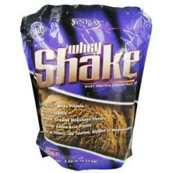 Syntrax Whey Shake Whey Protein Concentrate Chocolate 5 Lbs
