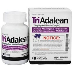 Covaxil Laboratories Triadalean High Yield Stimulant Complex 60 Capsules 681168506018