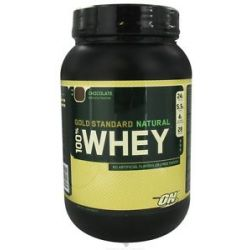 Optimum Nutrition 100 Whey Gold Standard Natural Protein Chocolate 2 Lbs