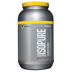 Nature's Best Isopure Perfect Zero Carb Banana Cream 3 Lbs
