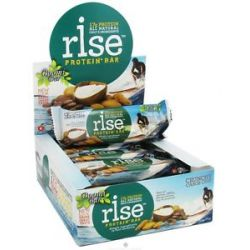 Rise Foods Rise Protein Bar Crunchy Carob Chip 2 1 oz formerly Boomi Bar