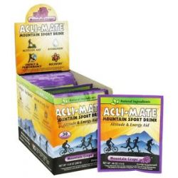 Acli Mate Mountain Sport Drink Mountain Grape 30 Packet S