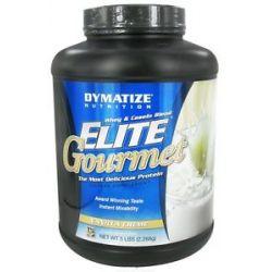 Dymatize Nutrition Elite Gourmet Protein Whey Casein Blend Powder Vanilla