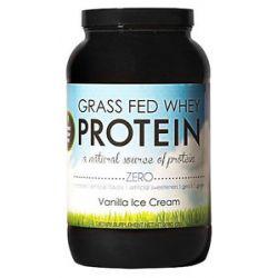 Nutrology Grass Fed Whey Protein Vanilla Ice Cream 2 Lbs
