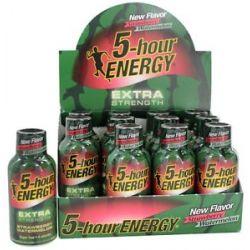 5 Hour Energy Energy Shot Extra Strength Strawberry Watermelon 1 93 Oz