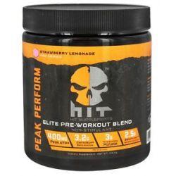 Hit Supplements Peak Performance Elite Pre Workout Blend Non Stimulant