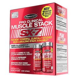 MuscleTech Products Pro Clinical Muscle Stack SX 7