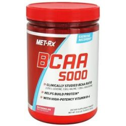 Met RX BCAA 5000 Branched Chain Amino Acid Powder Watermelon 300 Grams