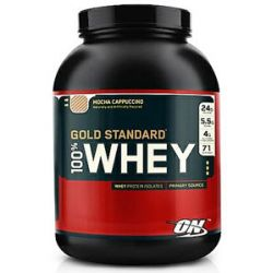 Optimum Nutrition 100 Whey Gold Standard Protein Mocha Cappuccino 5 Lbs