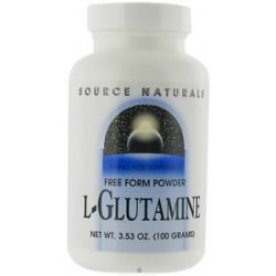 Source Naturals L Glutamine Free Form Powder 3 53 Oz