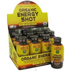 Guayaki Organic Energy Shot Chocolate Raspberry 2 Oz 632432811109