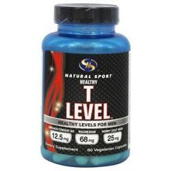 Natural Sport Healthy T Level 60 Vegetarian Capsules
