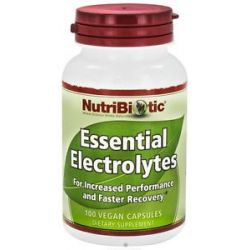 Nutribiotic Essential Electrolyte 100 Vegan Capsules 728177005603