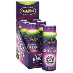 Celestial Seasonings Kombucha Energy Shot Berry 2 Oz