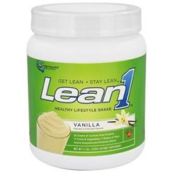 Nutrition 53 LEAN1 Performance Shake Vanilla 1 1 Lbs