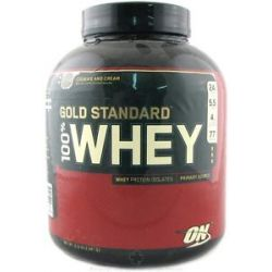 Optimum Nutrition 100 Whey Gold Standard Protein Cookies Cream 5 Lbs