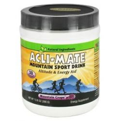 Acli Mate Mountain Sport Drink Mountain Grape 13 8 Oz
